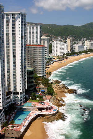 photos of acapulco bay, in the state of guerrero, mexico. Latin america.