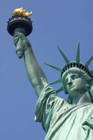 statue: new york city, united, states Stock Photo