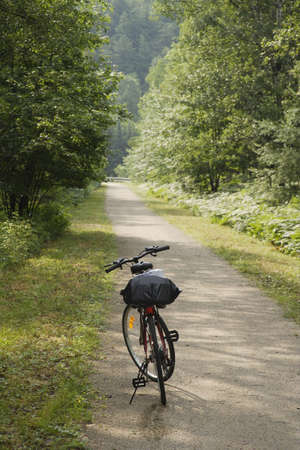 bicycle route in quebec, canada