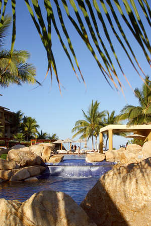 pool in los cabos, mexico Banco de Imagens