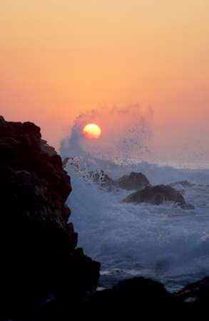 sunrise in los cabos, mexico
