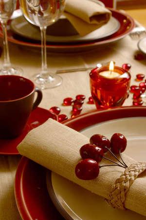 christmas dinner Banco de Imagens
