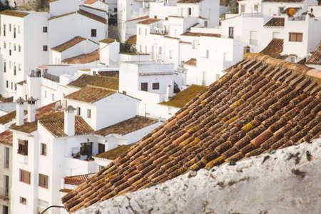 andalucia: casares, andalucia, spain