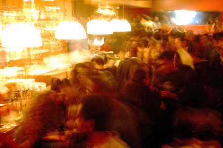 hot spot: general view of a hot spot in the night life of Mexico City, Mexico, Latin America