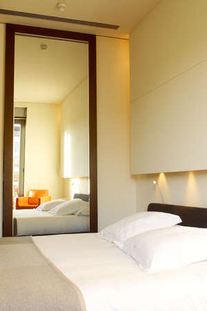 catalunya: hotel room  at the city of Barcelona, Catalunya, Spain, Europe