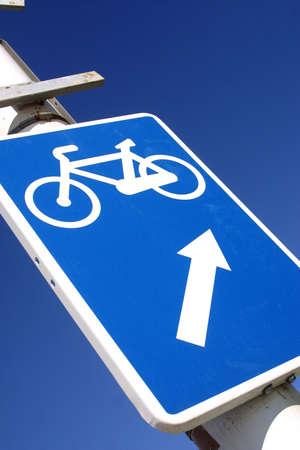 catalunya: bike sign at the city of Barcelona, Catalunya, Spain, Europe