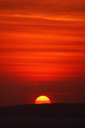 jalisco: sunset  in Puerto Vallarta, Jalisco, Mexico, Latin America Stock Photo