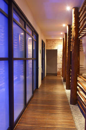 carmen: part of   a hotel with modern and minimalism decoration in Playa del Carmen, Cancun, Mexico, Latin America