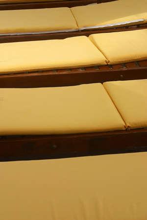 riviera maya: detalle de las sillas de playa de un hotel con detalles como la hacienda en Canc�n, Riviera Maya, Quinatan Roo, Mexico, Am�rica Latina