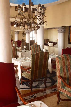 riviera maya: decoraci�n de interiores detalles de un hotel con detalles como la hacienda en Canc�n, Riviera Maya, Quinatan Roo, Mexico, Am�rica Latina  Foto de archivo
