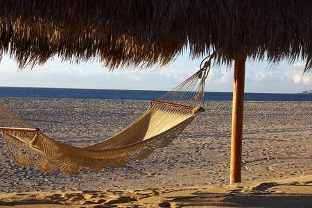 lucas: hammock in paradise Stock Photo