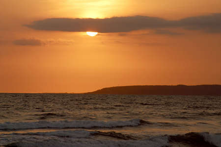 jalisco: cloudy sunset in Puerto Vallarta, Jalisco, Mexico Latin America