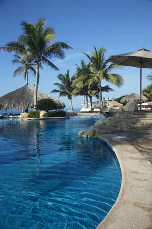 untitled key: pool in Los Cabos, Baja California Sur, Mexico Stock Photo