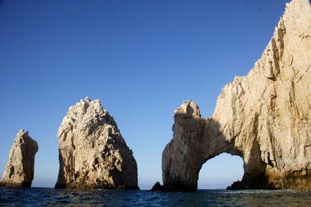 sur: the arch of Cabo San Lucas, Baja California Sur, Mexico Stock Photo