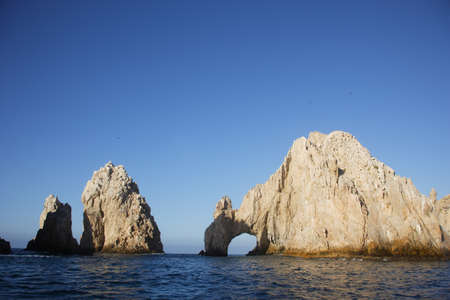 Panoramic of The Arch of Cabo San Lucas, Baja California Sur, Mexico