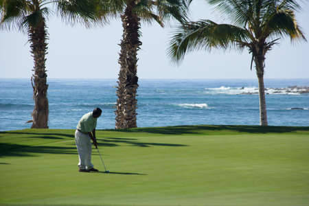 pacific ocean: golf in Los Cabos, Baja California Sur, Mexico