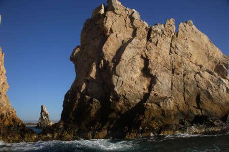 lucas: climbs at Los Cabos, Baja California Sur, Mexico Stock Photo