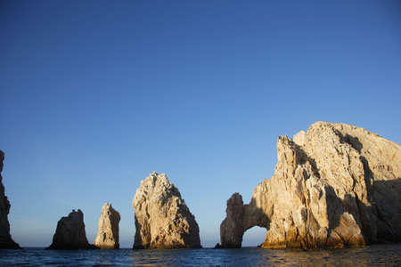 the arch of Cabo San Lucas in Baja California Sur in Mexico