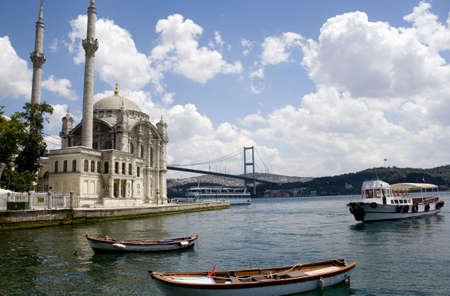 Ortakoy and the Bosphorus, Istanbul, Turkey