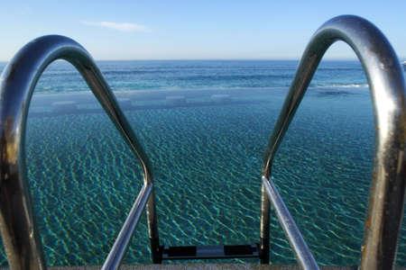 lucas: Beach in Los Cabos in Baja California Sur in Mexico Stock Photo