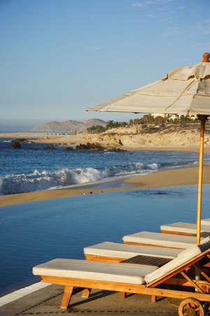 lucas: beach in Los Cabos in Mexico