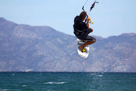 skate on the sea, Baja California, Mexico