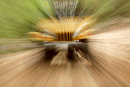 extremist: car adventure in the mountains of mexico Stock Photo