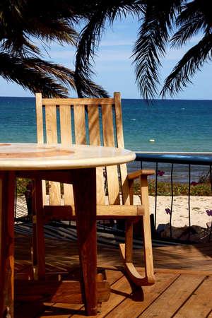 tourisms: beach in Baja California Sur in Mexico Stock Photo