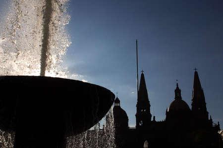 guadalajara: Downtown of Guadalajara, Jalisco, Mexico.