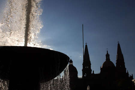 jalisco: Downtown of Guadalajara, Jalisco, Mexico.