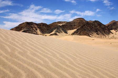 tourisms: dunes in Baja California, north of Mexico