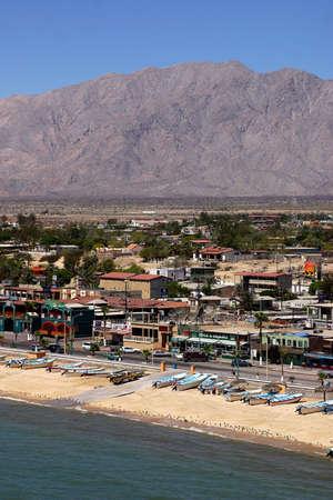 tourisms: beach in San Felipe, Baja California, Mexico Stock Photo