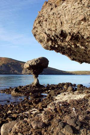 tourisms: La Balandra, beach near of La Paz, Baja California, Mexico