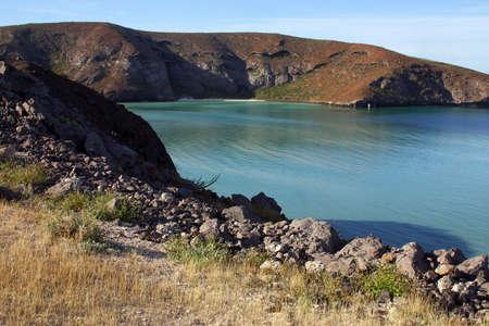 tourisms: Beach near of La Paz, Baja California, Mexico