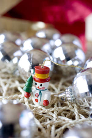 december 25th: kitsch decoration to christmas even Stock Photo