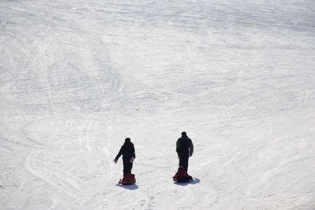 tourisms: snow in Pic du Midi, Pyrenees, France