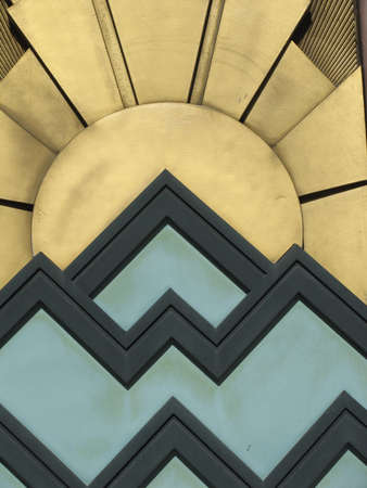 background with Art Deco style Stock Photo - 7264751