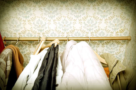 domesticity: closet detail at home under disaster!