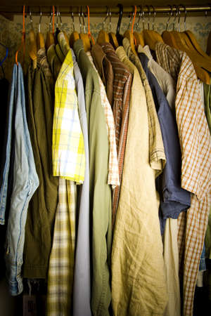 inattention: closet detail at home under disaster!