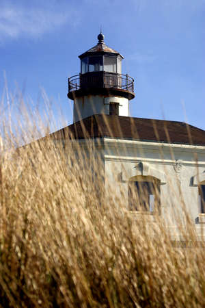 coquille: Coquille River Lighthouse in the region of Oregon in United States