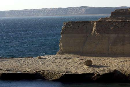 southamerica: Coast in Peninsula de Valdes, Patagonia, Argentina
