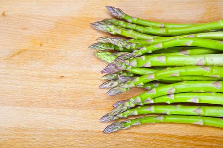 dinnertime: asparagus