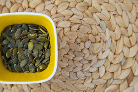 dinnertime: Sunflower seeds Stock Photo