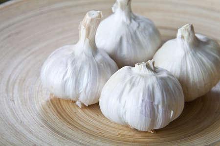 mediterrane k�che: organische Knoblauch. Grundlegende Bestandteil in die mediterrane K�che.