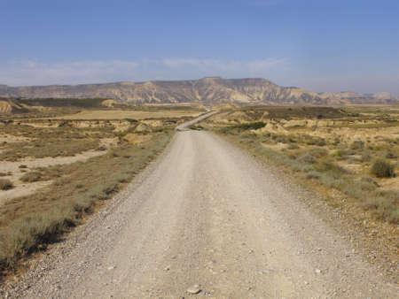 Natural landscape in the biosphere reserve Bardenas, Navarra, Spain Stock Photo - 12187168