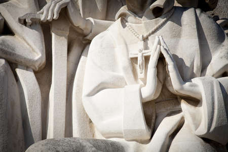 discoveries: Padr�o dos Descobrimentos, Monument to the Discoveries, celebrating Henri the Navigator and the Portuguese Age of Discovery and Exploration, Belem district, Lisbon, Portugal, Europe