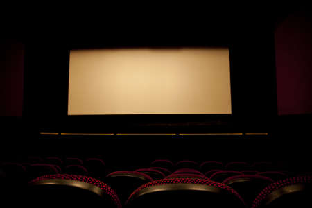 A cinema screen photo