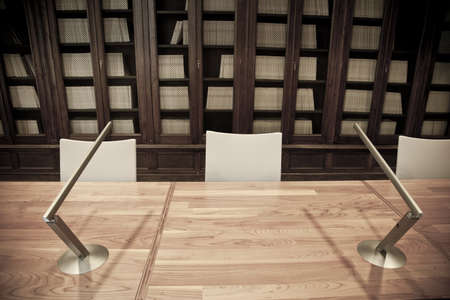 higher education: Conference room detail in a modern office in Europe