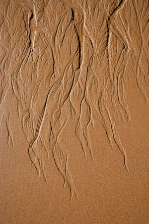 marvellous: Sand detail in Andalusia, Spain Stock Photo