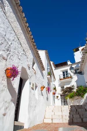 andalusien: Die Altstadt von Mijas an der Costa del Sol, Andalusien, Spanien